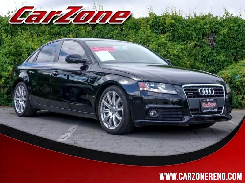 2011 Audi A4 4dr Sdn Man quattro 2.0T Premium