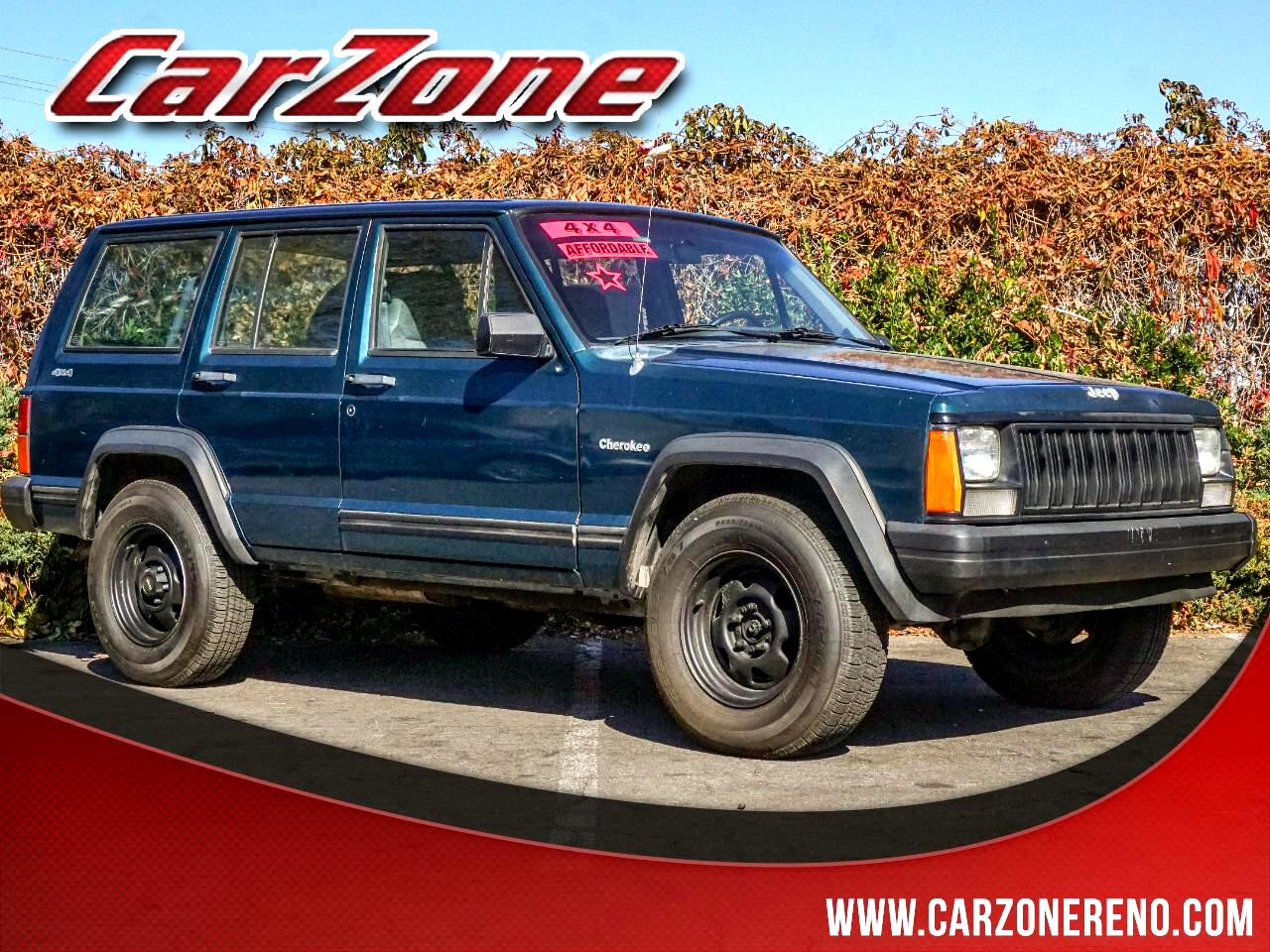 1996 Jeep Cherokee 4dr SE 4WD