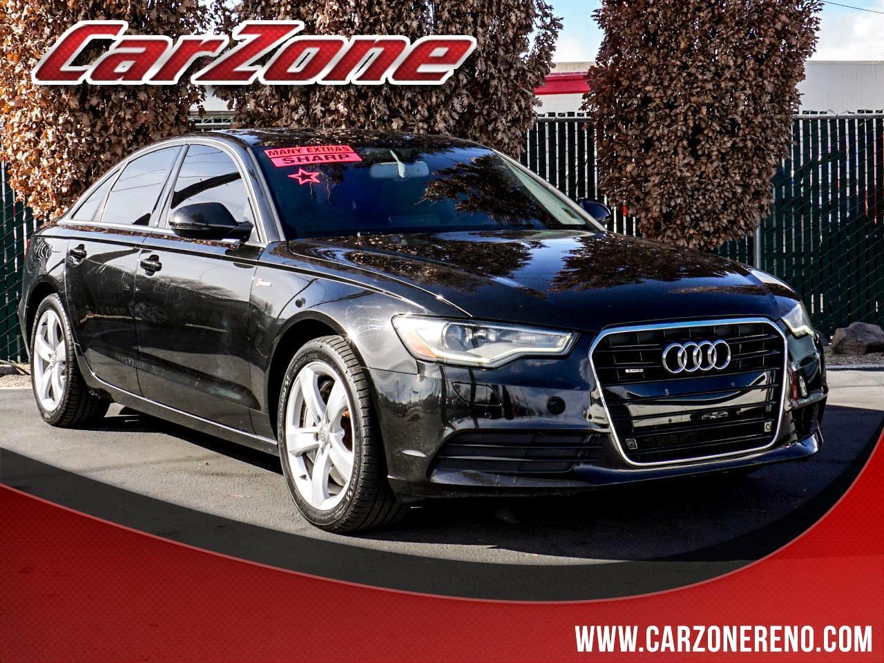 Audi A6 4dr Sdn quattro 3.0T Premium Plus 2012