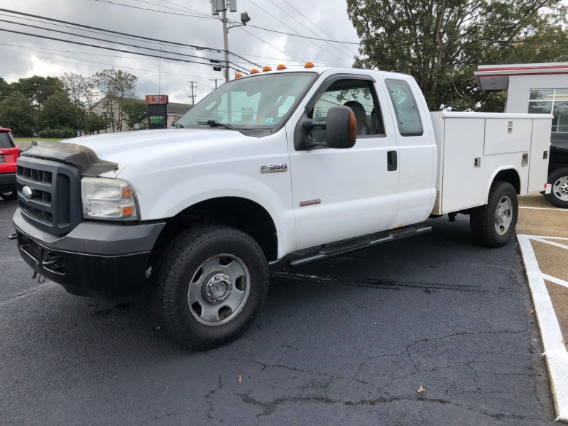 2007 Ford F-350 SD EXTENDED CAB UTILTIY BODY