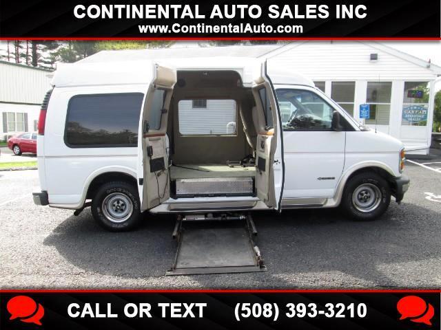 2002 Chevrolet Express Handicap Accessible High Top Conversion Van