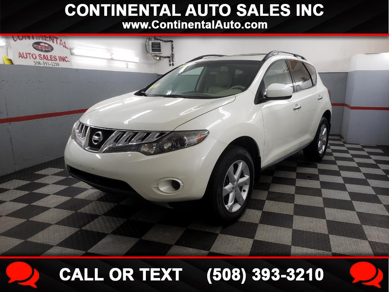 2009 Nissan Murano AWD 4dr S