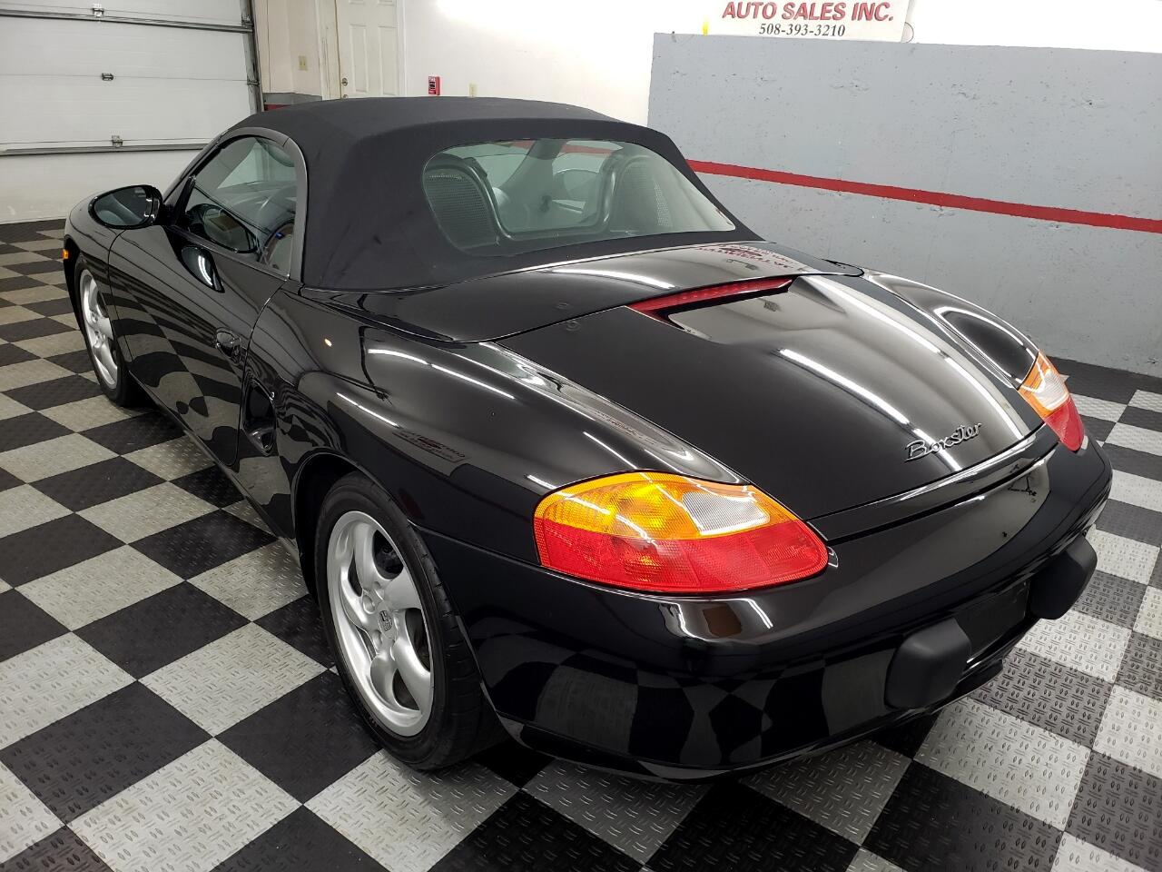 2000 Porsche Boxster 2dr Roadster Manual