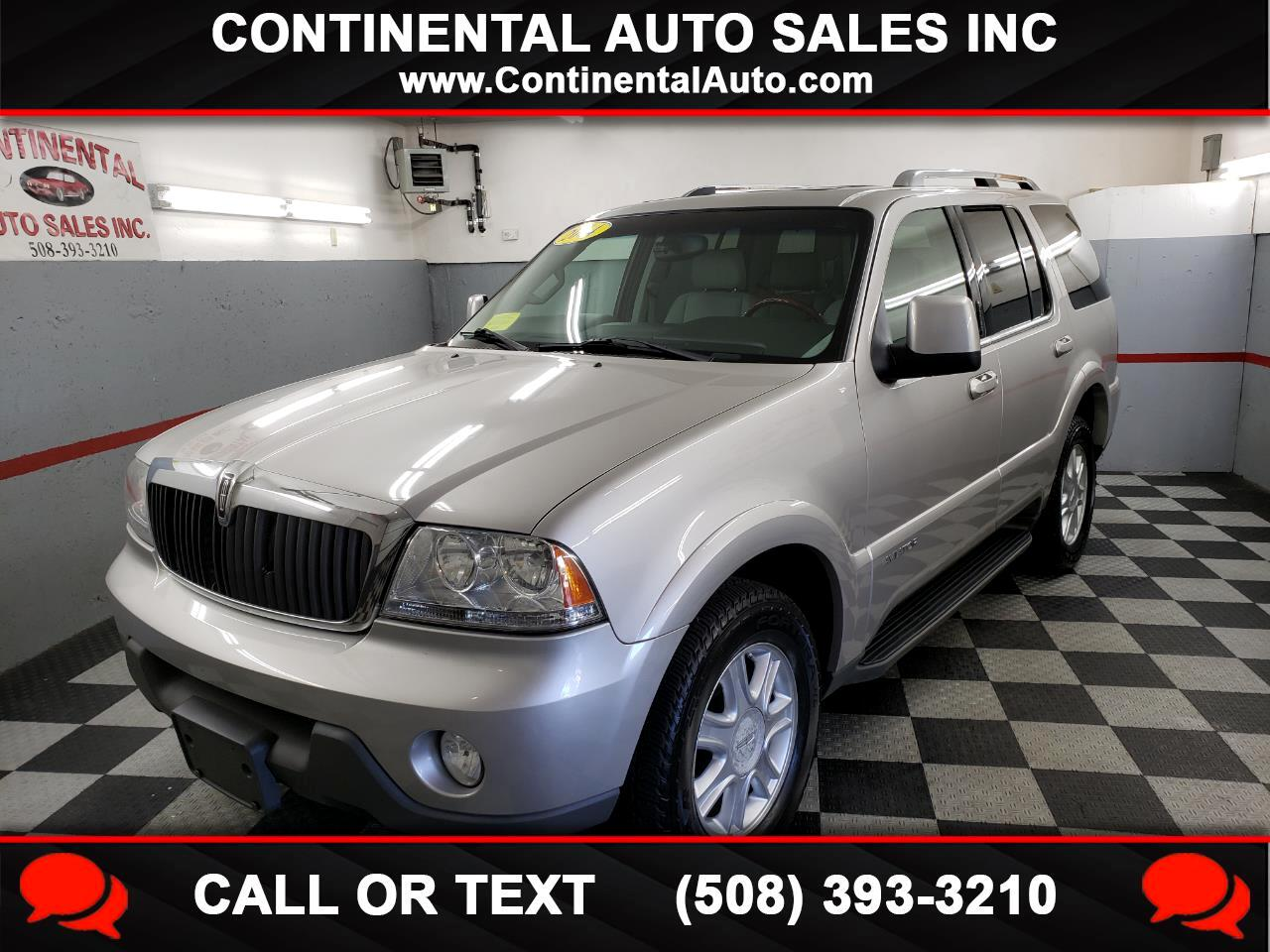 2004 Lincoln Aviator 4dr AWD Luxury