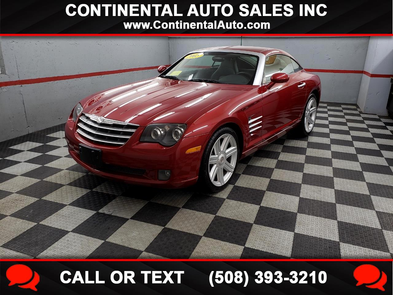 2005 Chrysler Crossfire 2dr Cpe Limited