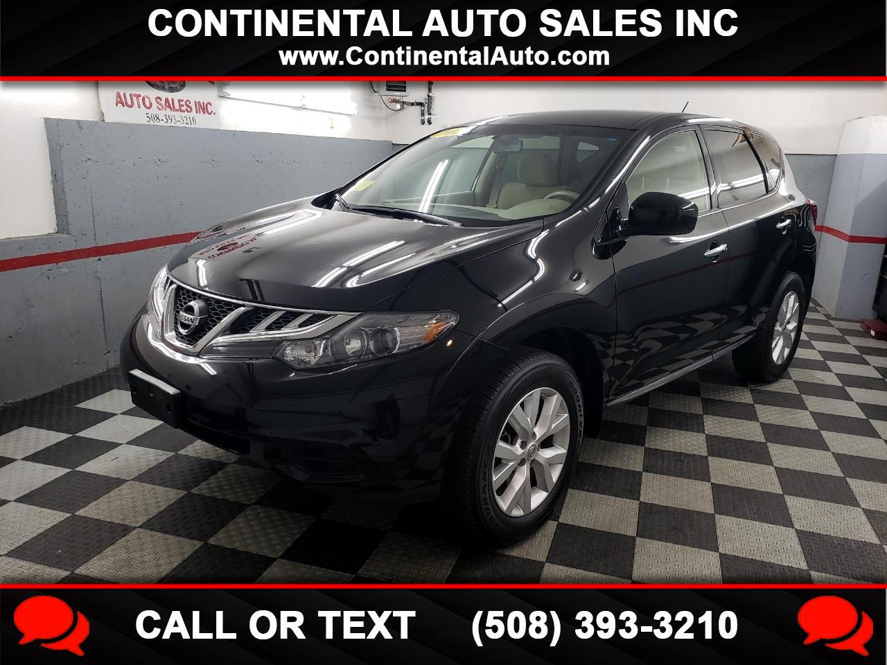 Nissan Murano AWD 4dr S 2014