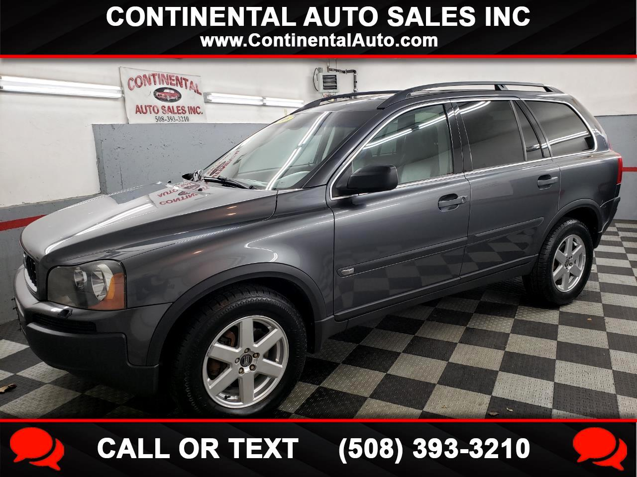 Volvo XC90 4dr 2.5L Turbo AWD w/Sunroof/3rd 2005
