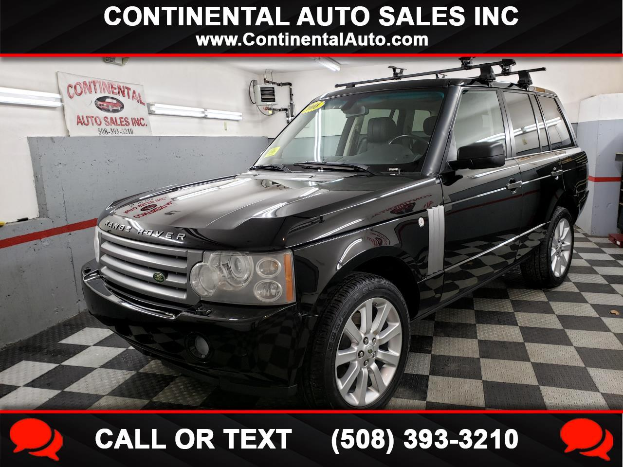Land Rover Range Rover 4WD 4dr HSE 2008