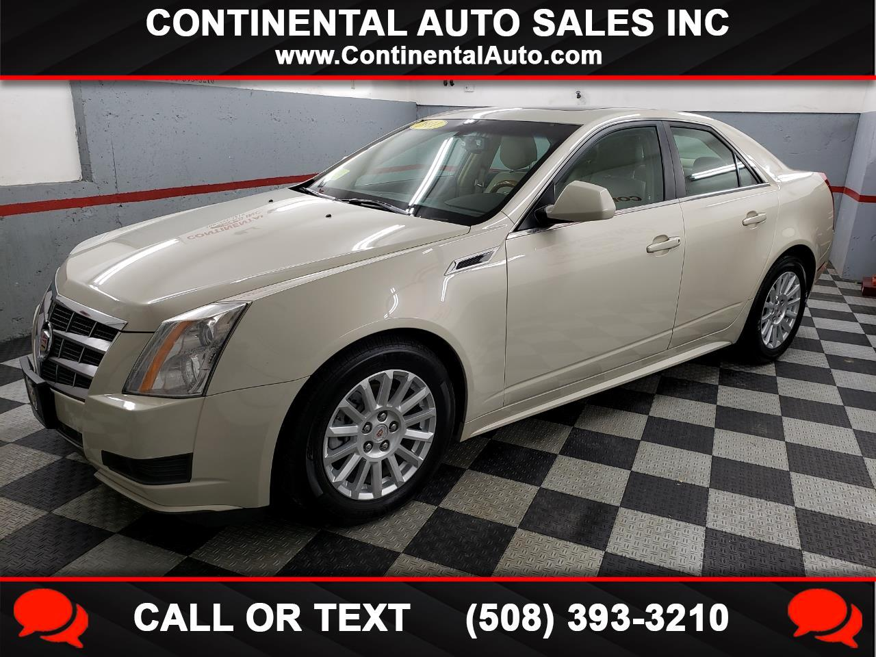 Cadillac CTS Sedan 4dr Sdn 3.0L Luxury AWD 2011
