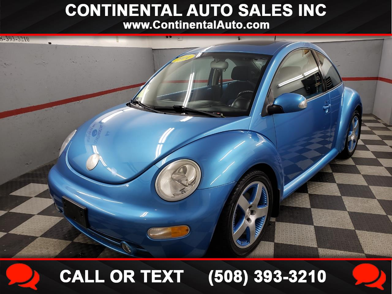 Volkswagen New Beetle Coupe 2dr Cpe Satellite Blue 2004
