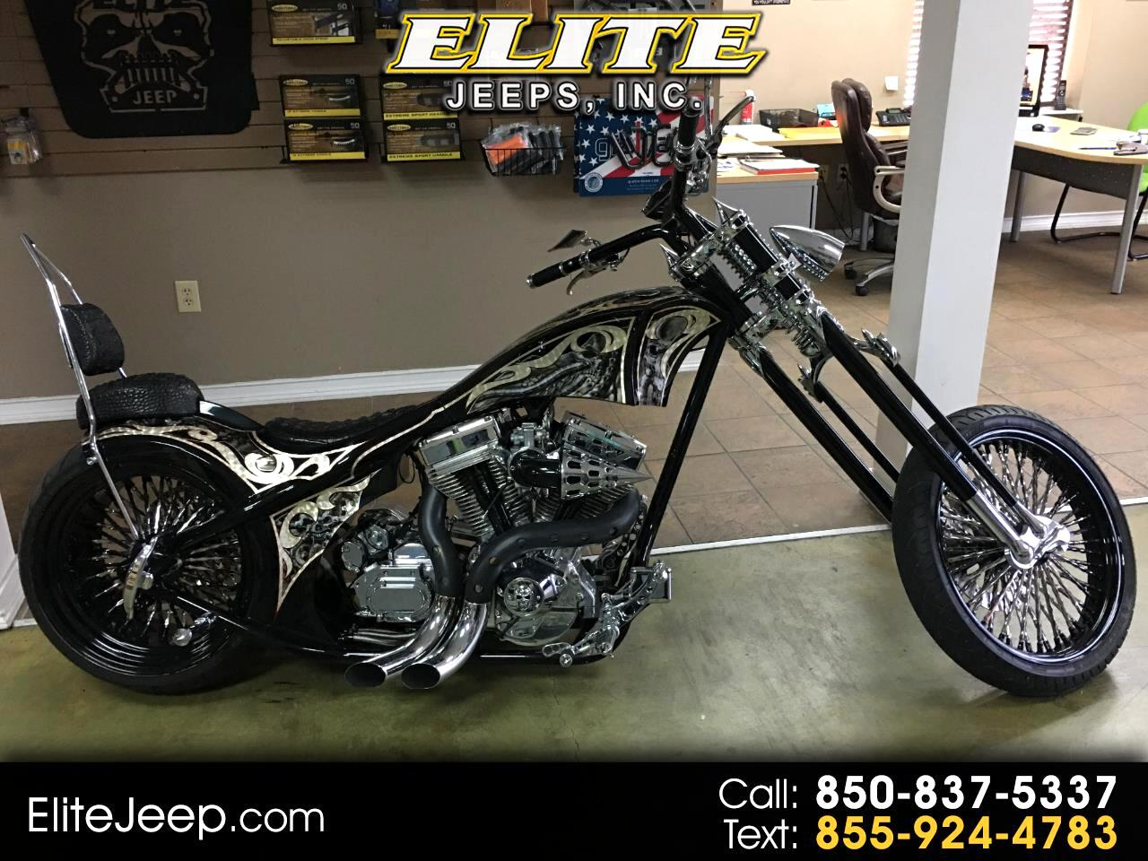 Custom Motorcycle Chopper  2014
