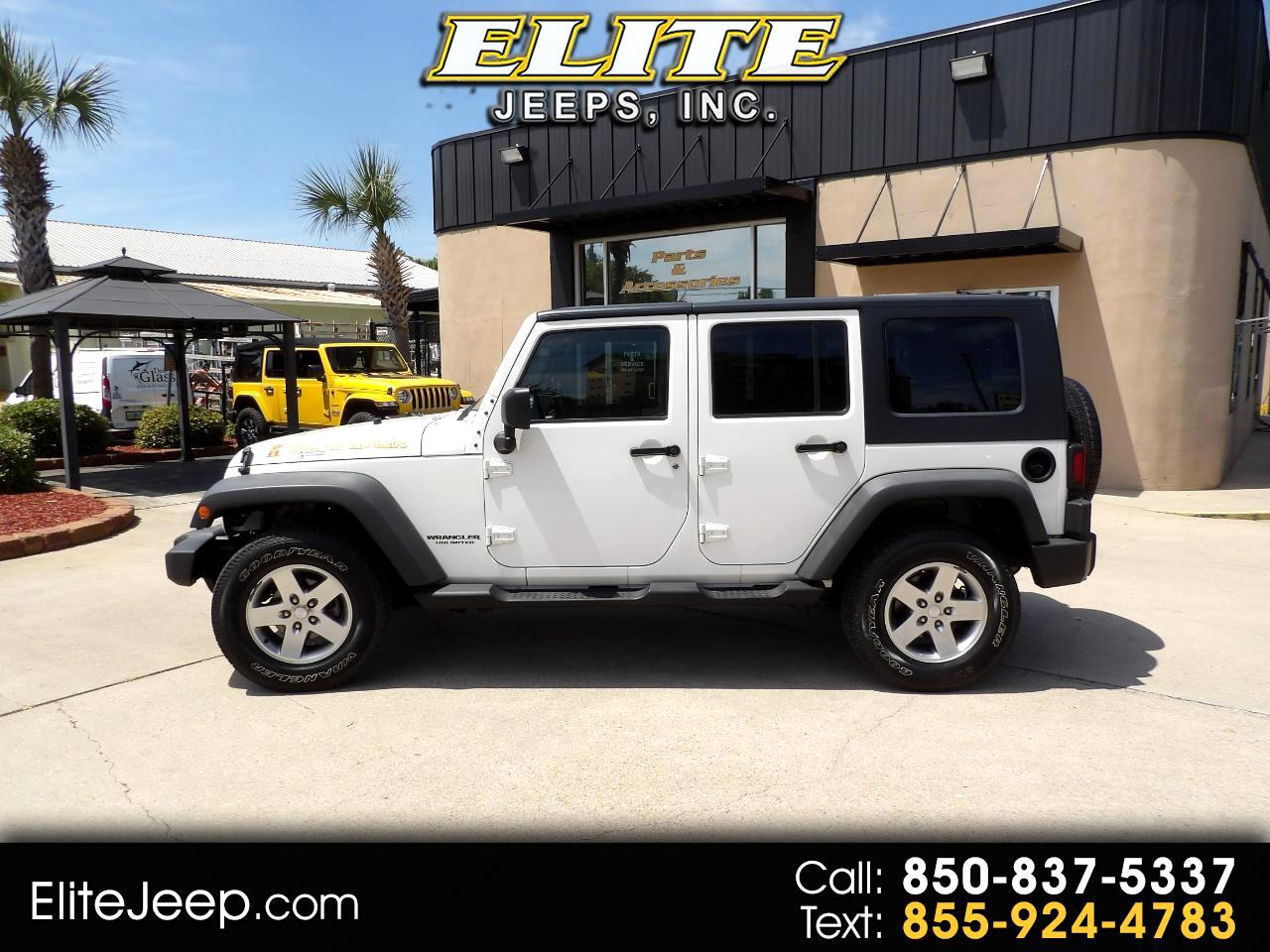 Jeep Wrangler Unlimited 4WD 4dr Islander *Ltd Avail* 2010