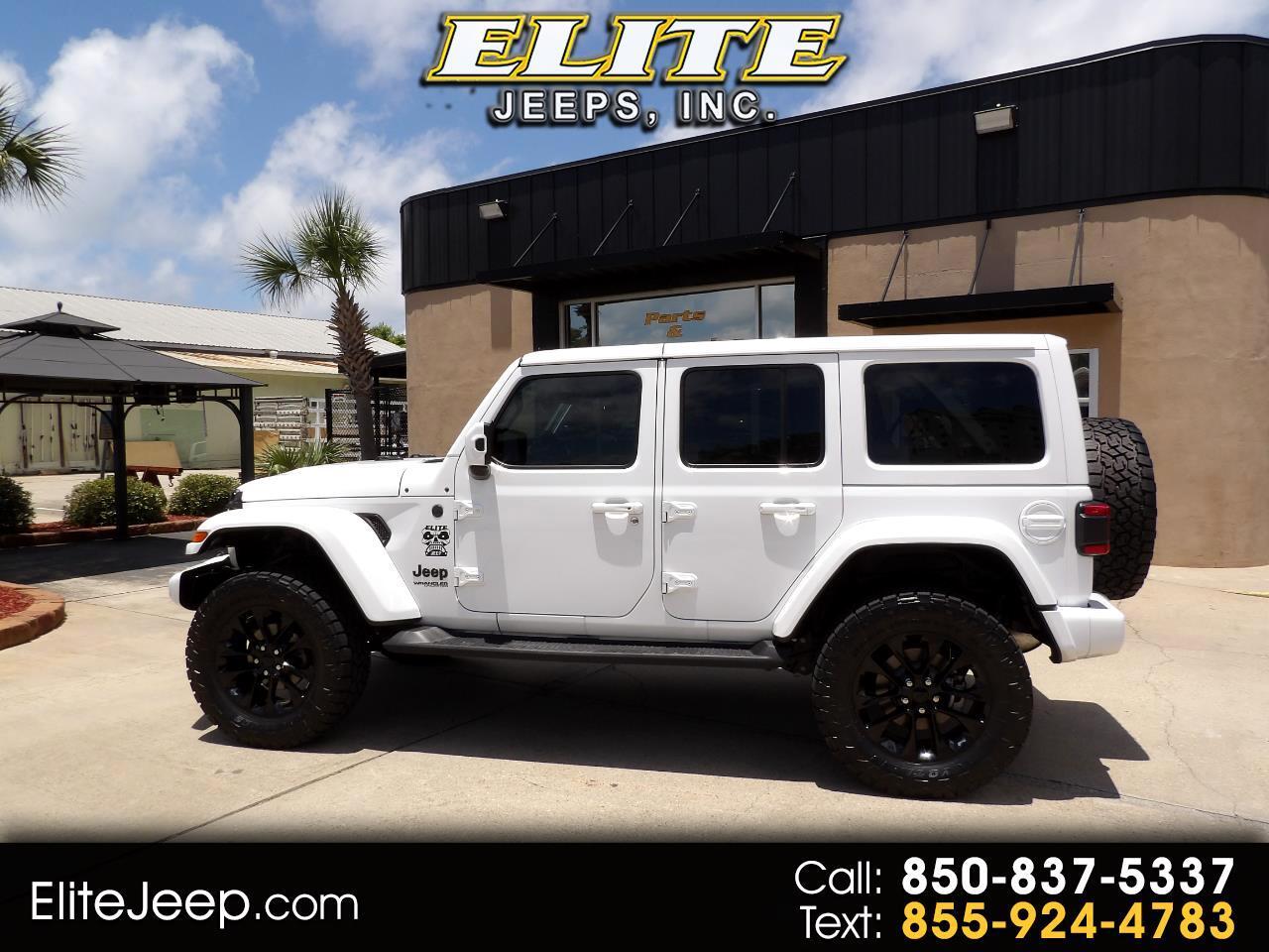 Jeep Wrangler Unlimited Sahara High Altitude 4x4 2021
