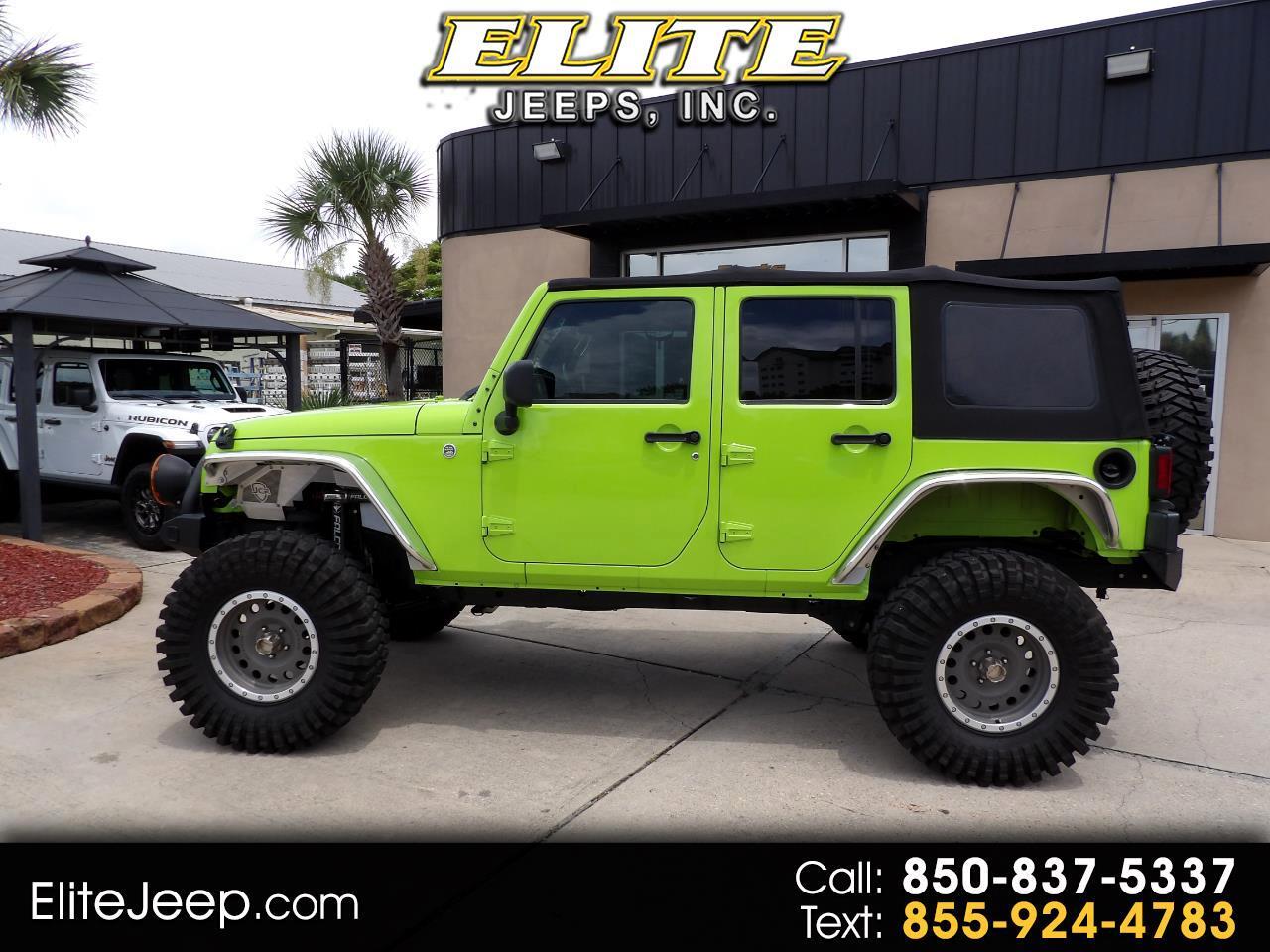 Jeep Wrangler Unlimited 4WD 4dr Sahara 2013