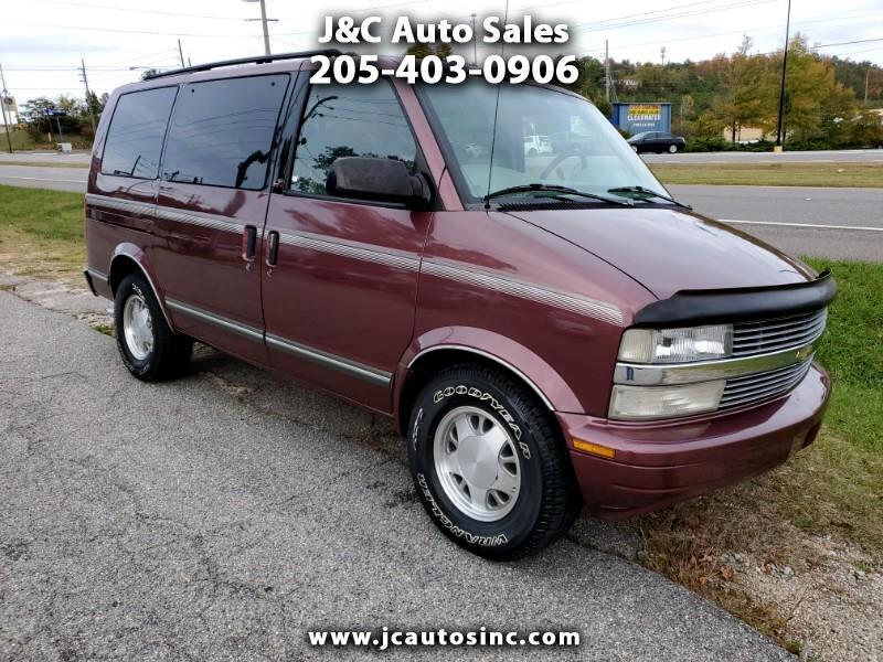 "Chevrolet Astro Passenger Ext 111"" WB RWD 1996"