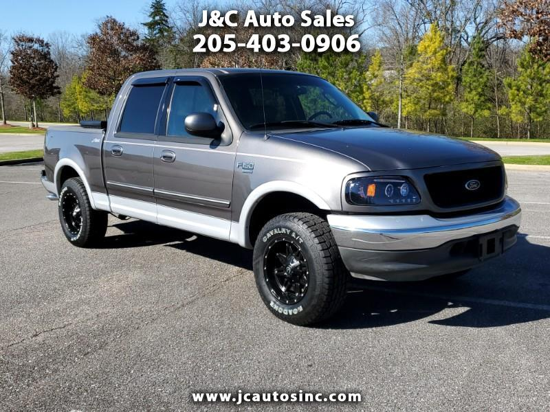 "Ford F-150 SuperCrew 139"" King Ranch 2002"