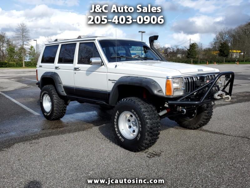 Jeep Cherokee 4dr Wagon Laredo 4WD 1989