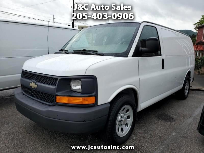 """Chevrolet Express Cargo Van RWD 1500 135"""" 2012"""