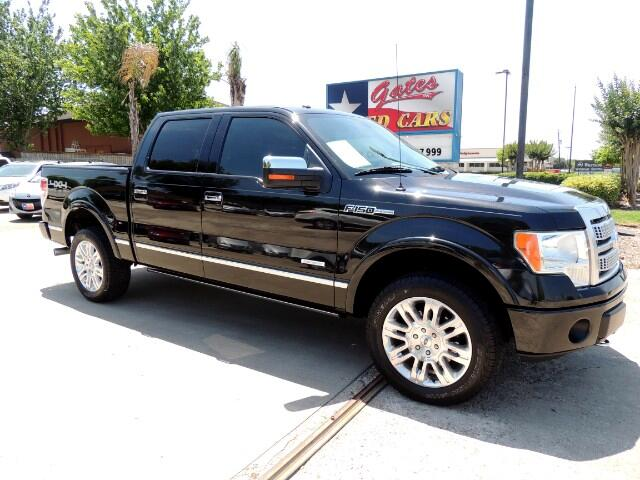 2012 Ford F-150 Platinum 4WD SuperCrew 5.5' Box