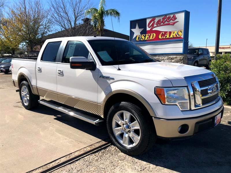 "2011 Ford F-150 2WD SuperCrew 139"" Lariat"