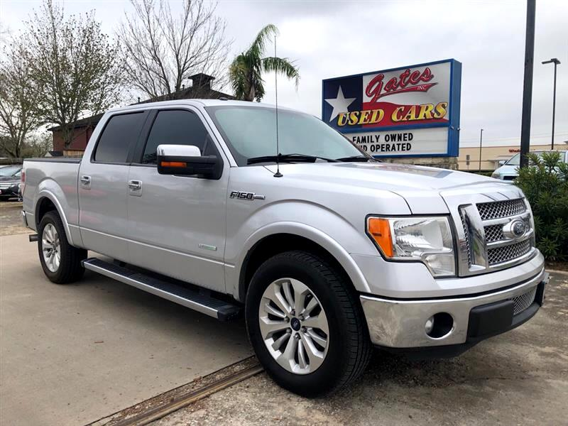 2012 Ford F-150 Lariat  SuperCab 5.5-ft. Bed 2WD