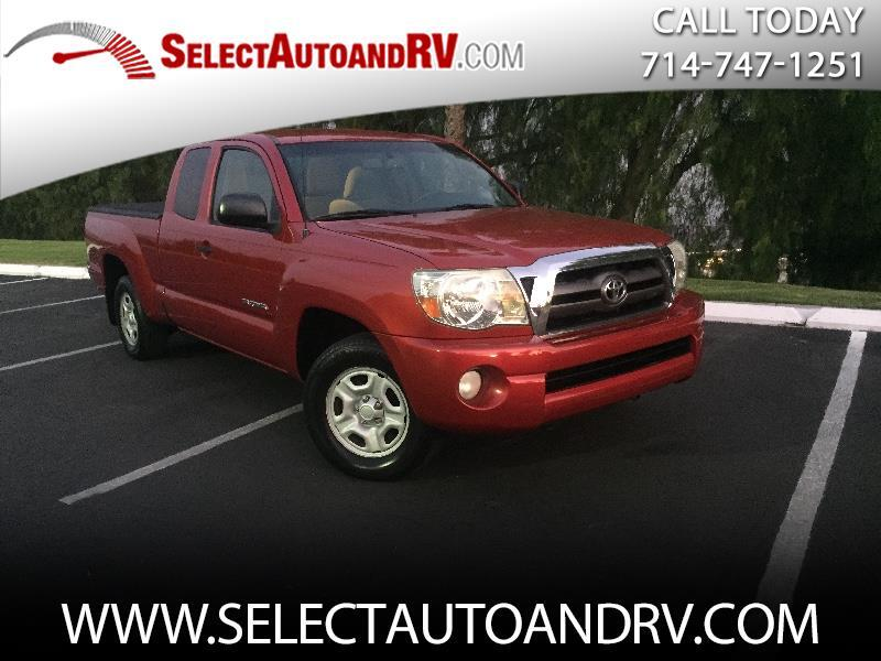 2009 Toyota Tacoma 2WD Access Cab I4 AT SR5 (Natl)