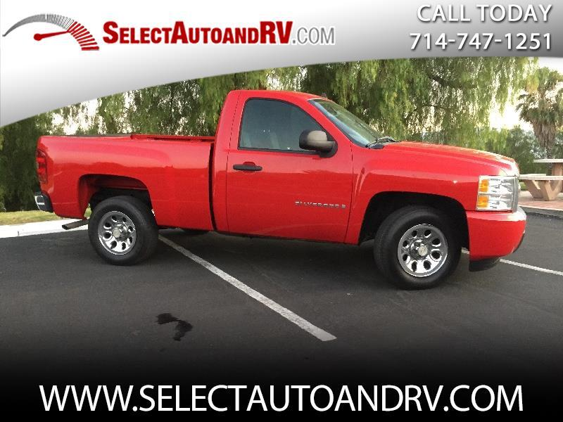 Chevrolet Silverado 1500 LS Regular Cab Short Bed 2WD 2008