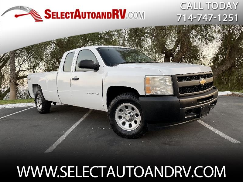 Chevrolet Silverado 1500 Work Truck Ext. Cab Long Box 4WD 2010