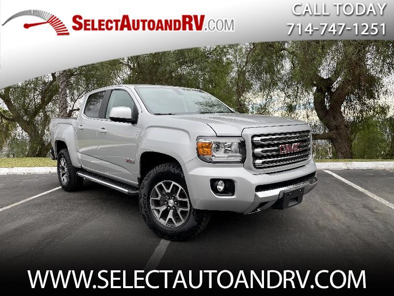 GMC Canyon All Terrain Crew Cab w/Leather Short Box 4WD 2017