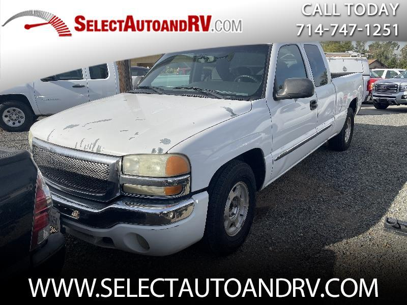 GMC Sierra 1500 SLE Ext. Cab Short Bed 2WD 2004