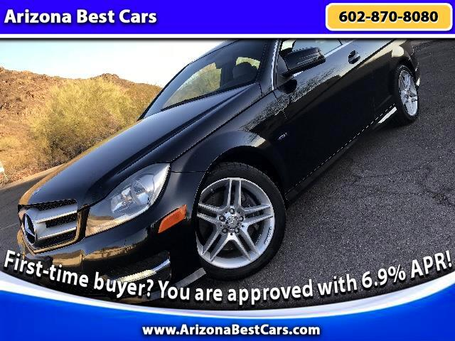 2012 Mercedes-Benz C-Class C350 Coupe 4MATIC