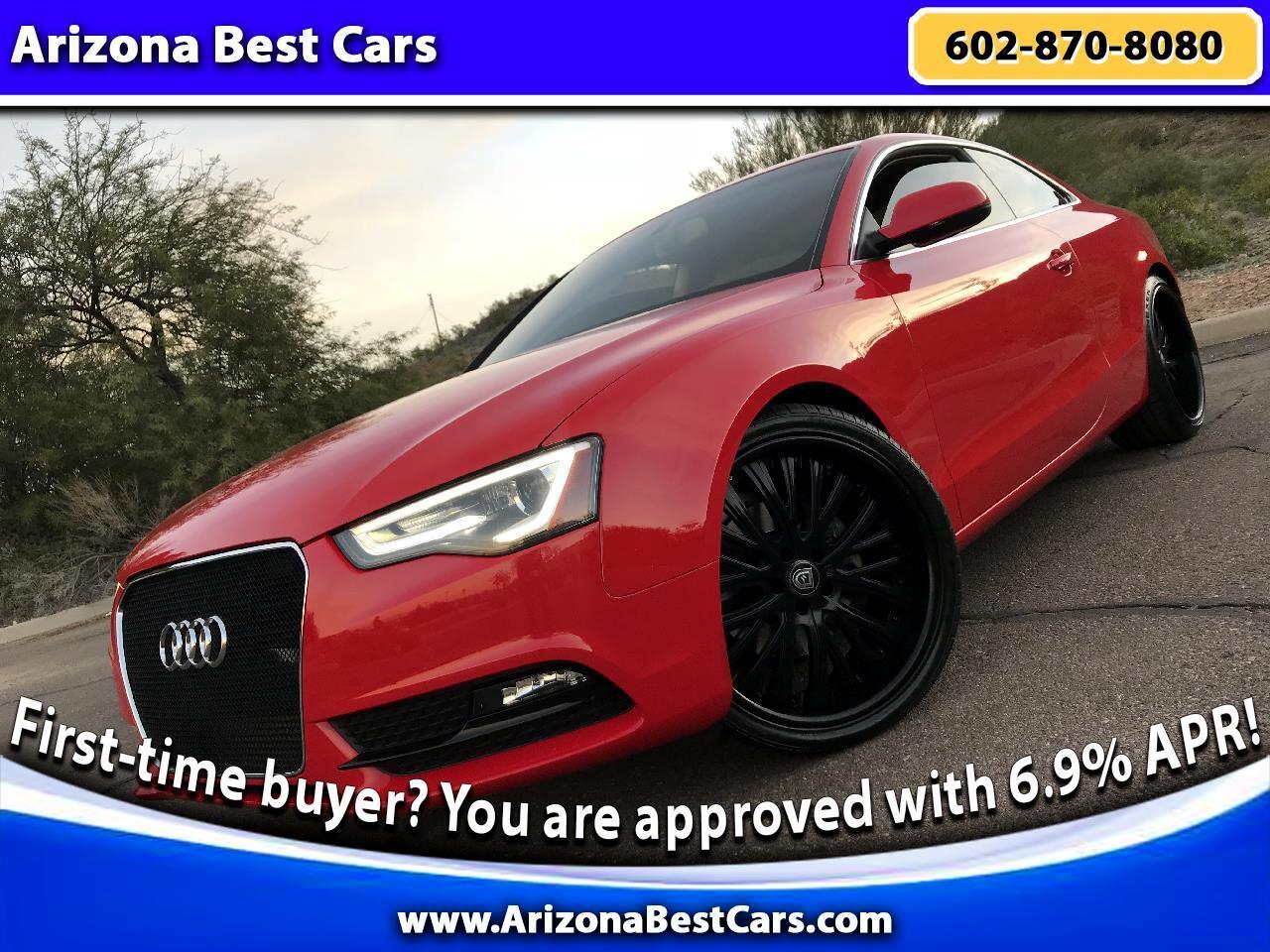 2013 Audi A5 2dr Cpe Auto quattro 2.0L Prestige