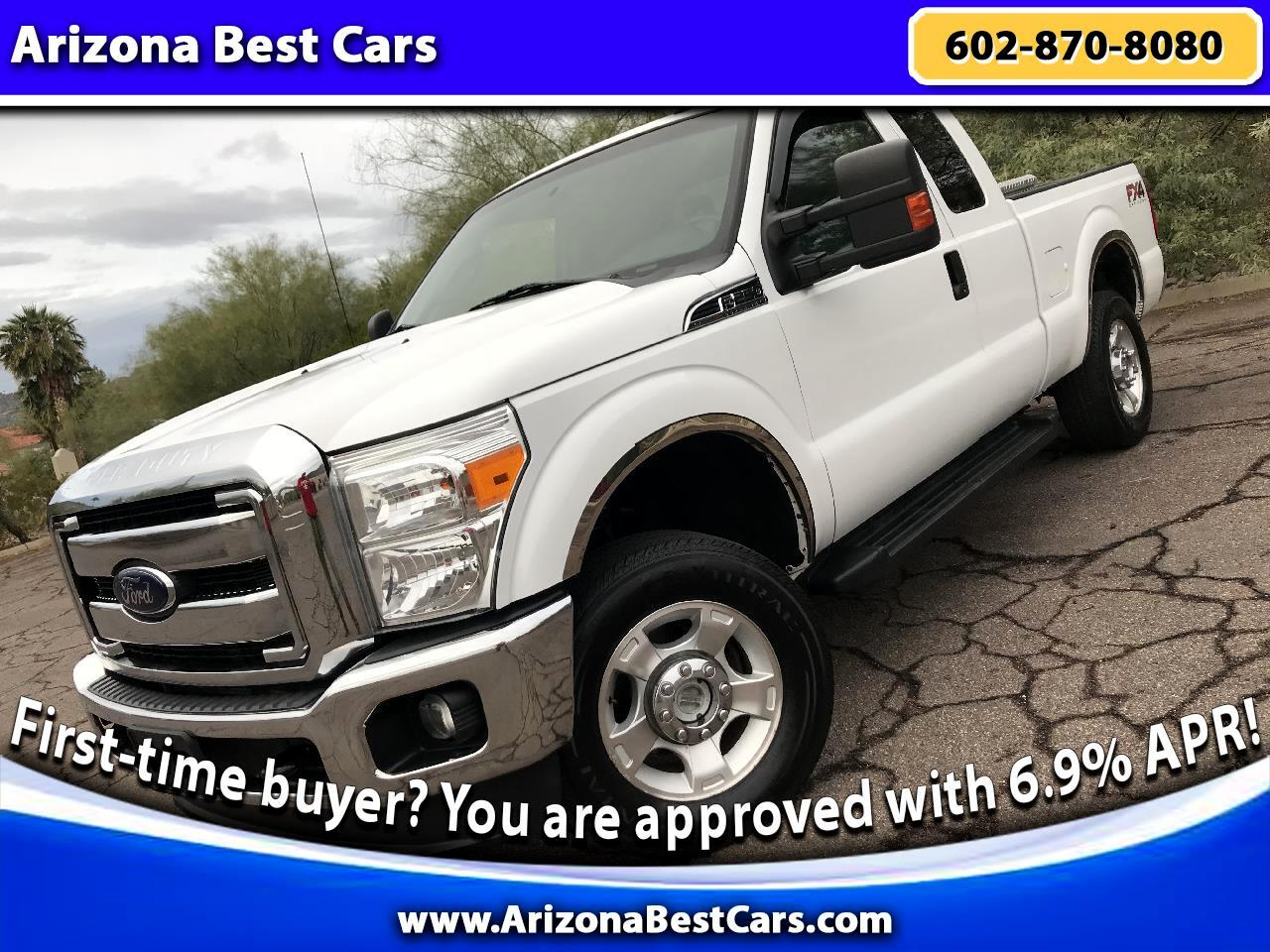 2012 Ford F-250 SD FX4 SuperCab 4WD
