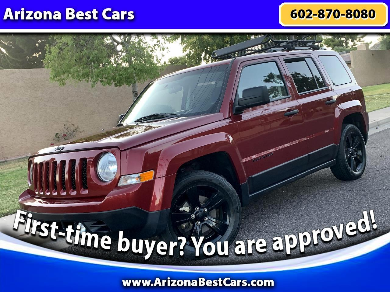 Jeep Patriot FWD 4dr Altitude 2015