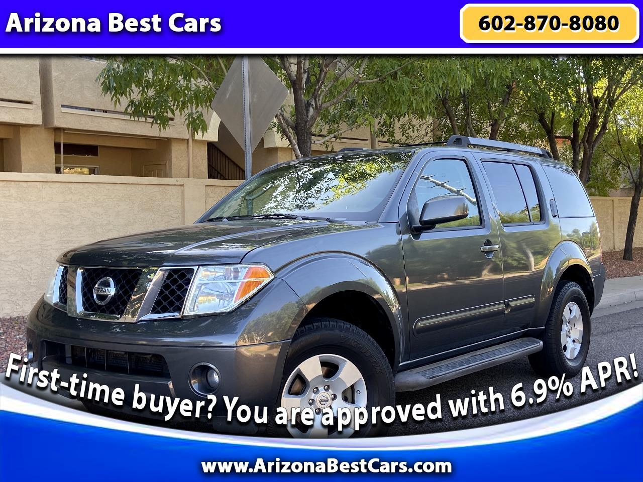 2006 Nissan Pathfinder SE 4WD Off Road