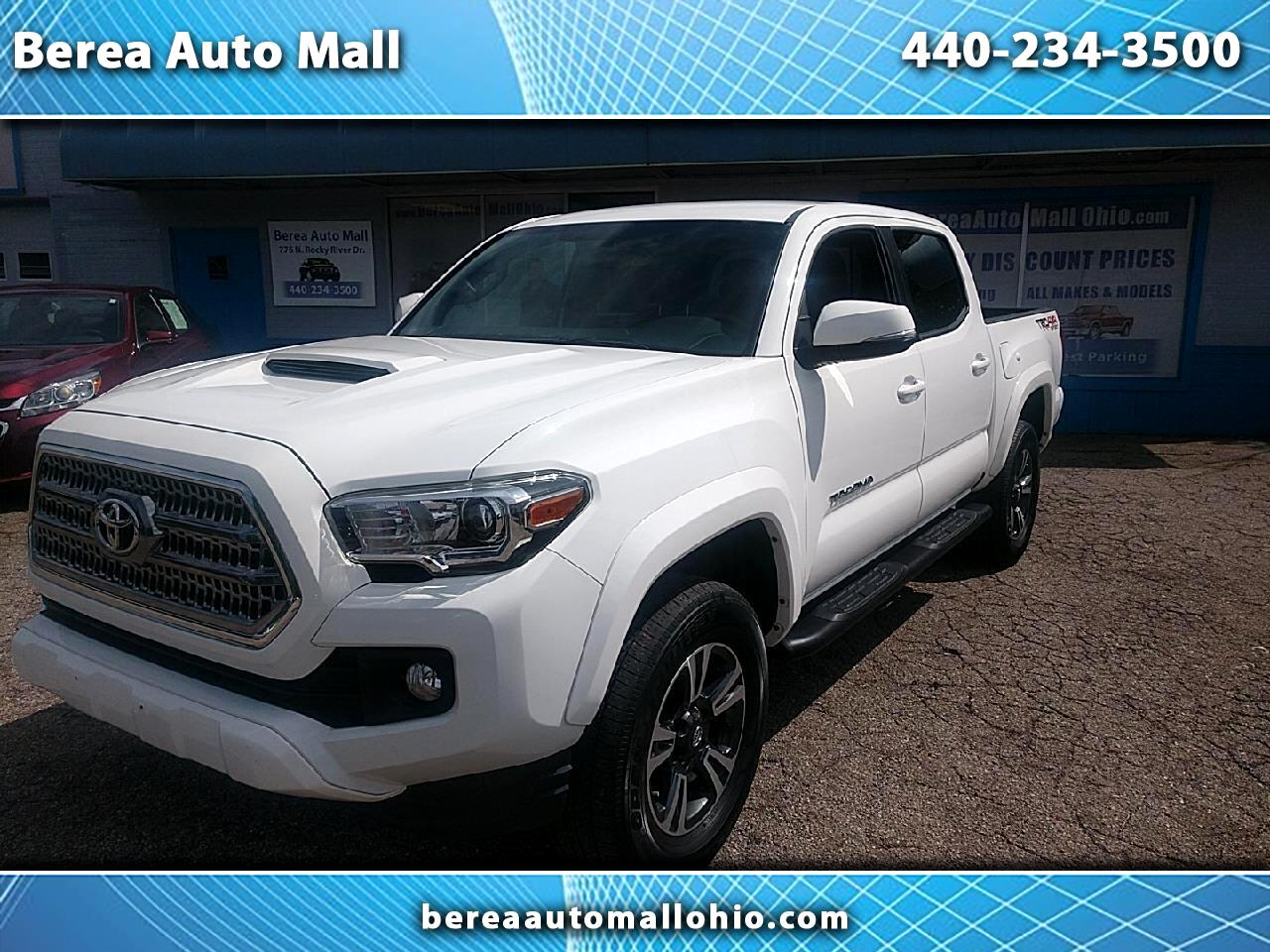 Toyota Tacoma TRD Sport Double Cab 6' Bed V6 4x4 AT (Natl) 2017