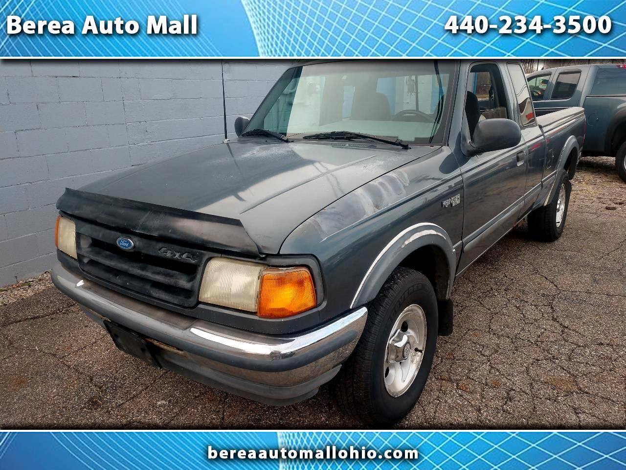 "1993 Ford Ranger Supercab Styleside 125"" WB XLT 4WD"