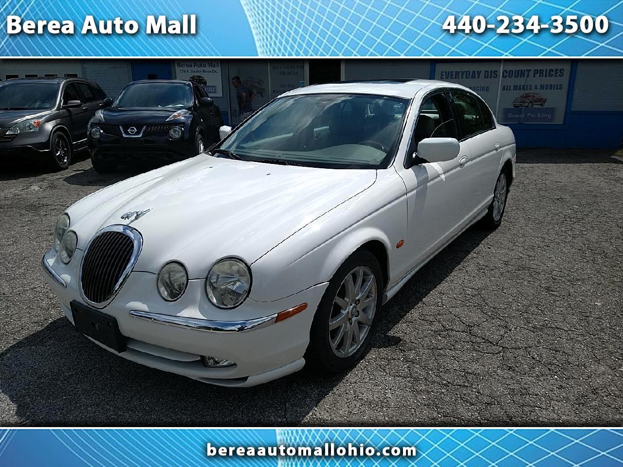 2001 Jaguar S-Type 4dr Sdn V8