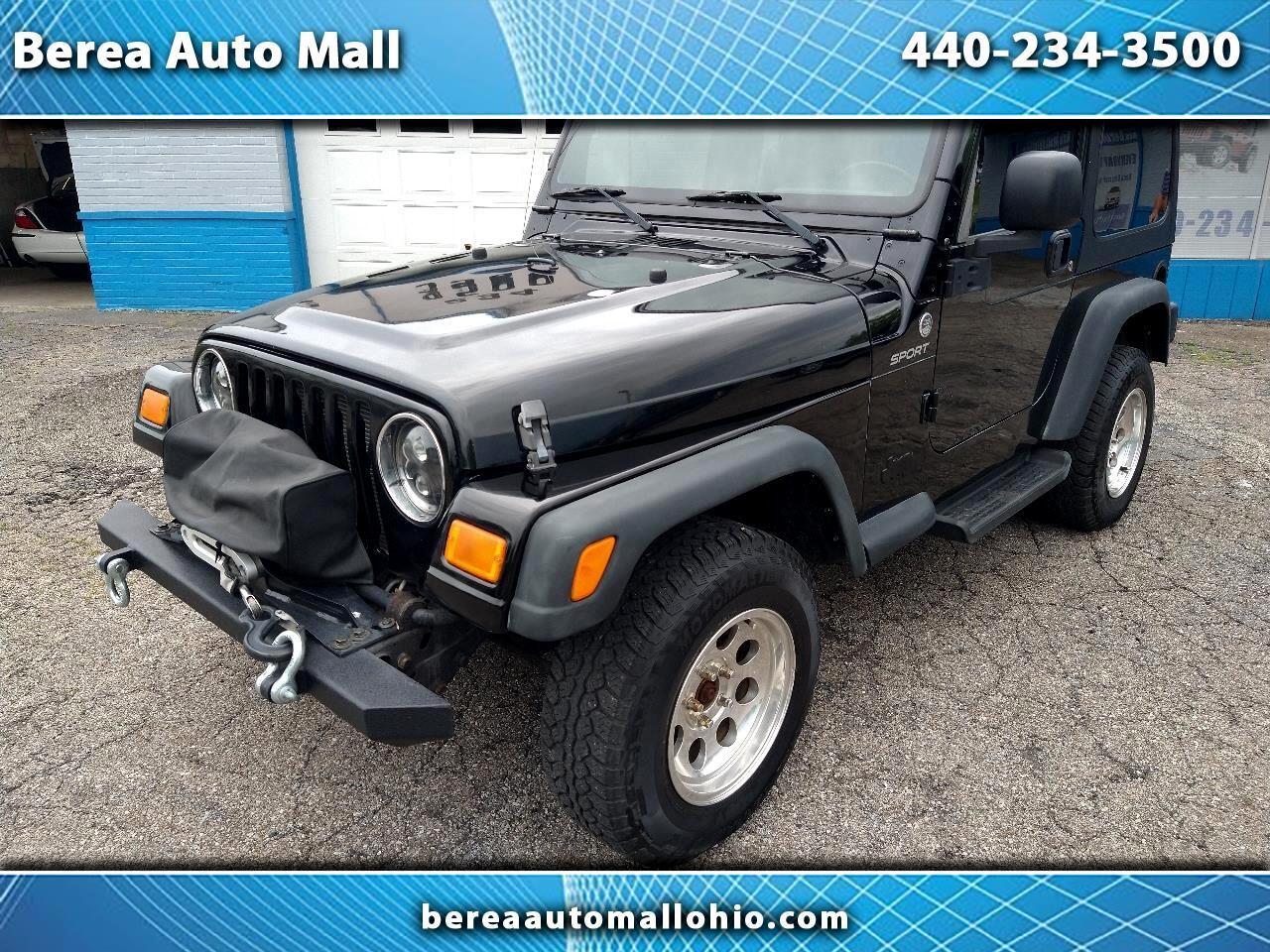 2006 Jeep TJ 2dr Sport