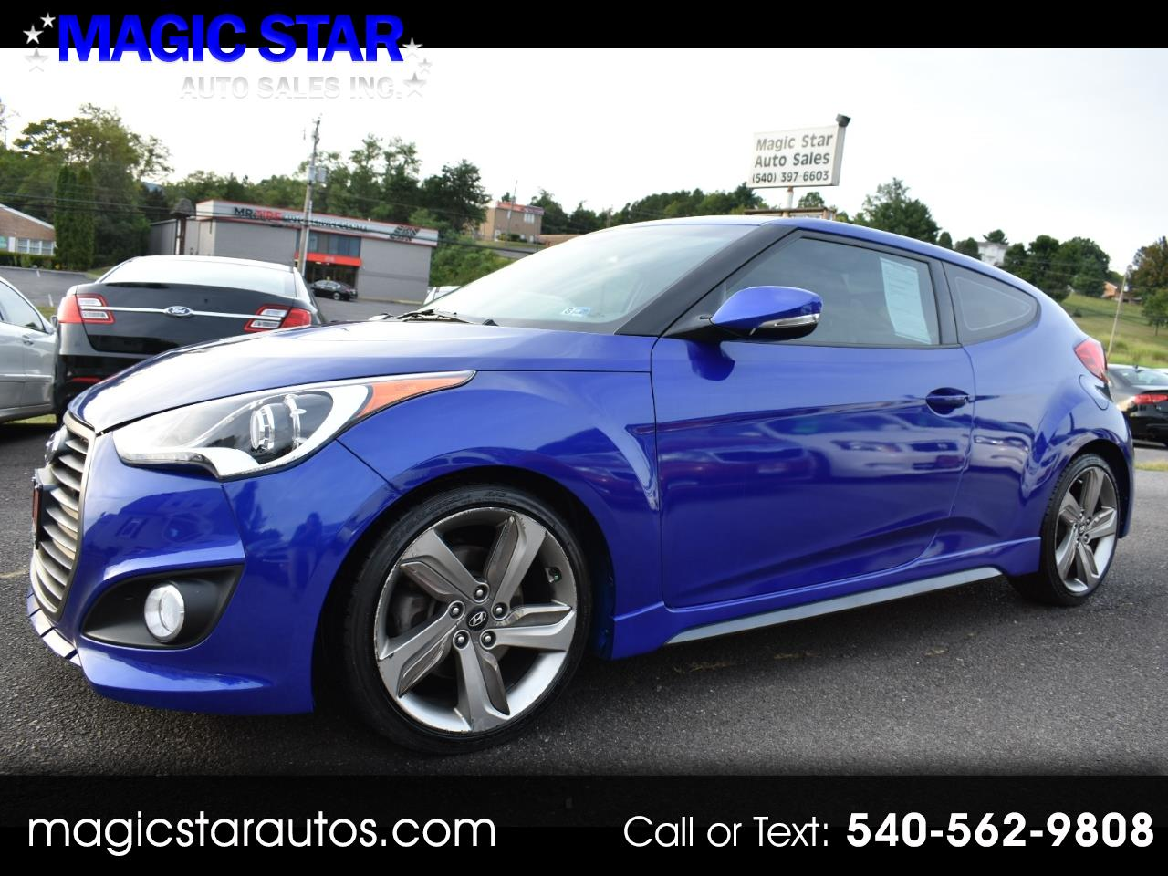 2013 Hyundai Veloster Turbo Charged