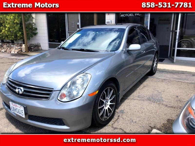 2005 INFINITI G35  for sale VIN: JNKCV51E05M225684