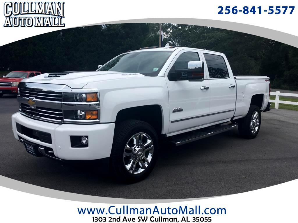 "2017 Chevrolet Silverado 2500HD 4WD Crew Cab 153.7"" High Country"