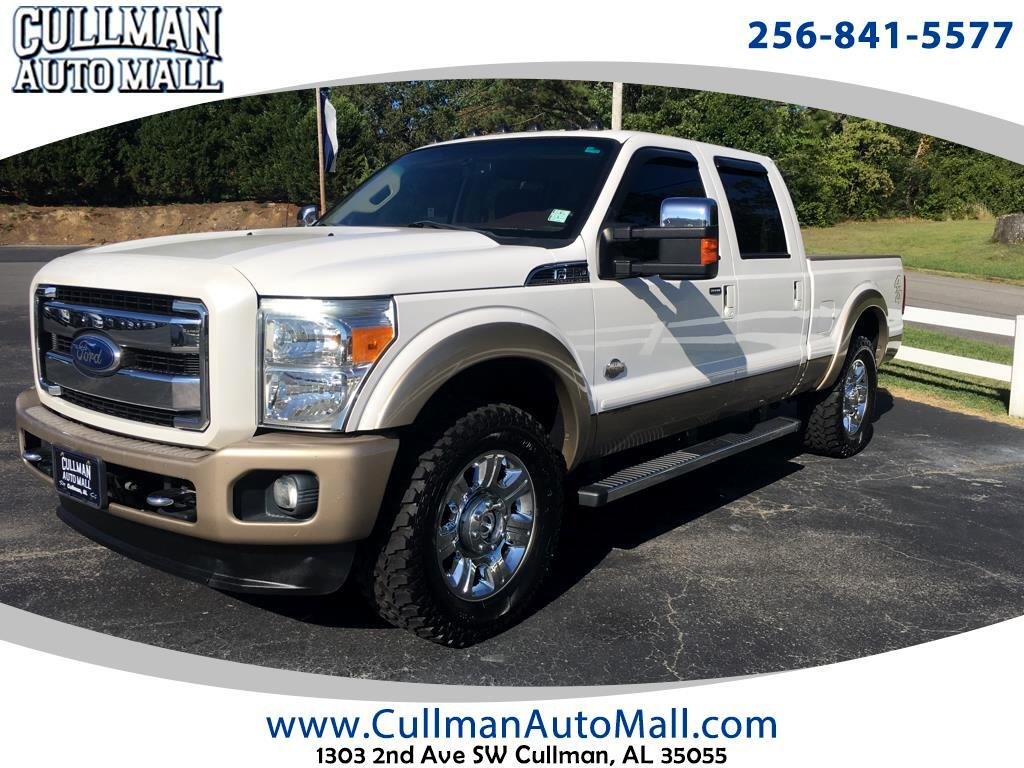 "2012 Ford Super Duty F-250 SRW 4WD Crew Cab 156"" XL"