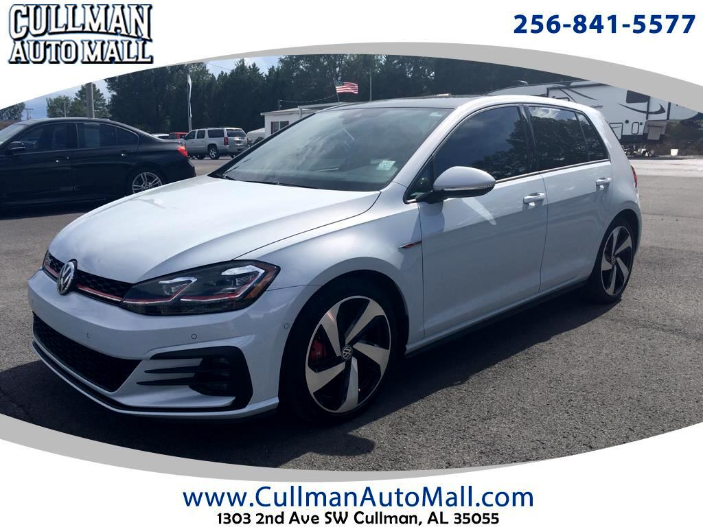 2018 Volkswagen Golf GTI 2.0T 4-Door S DSG