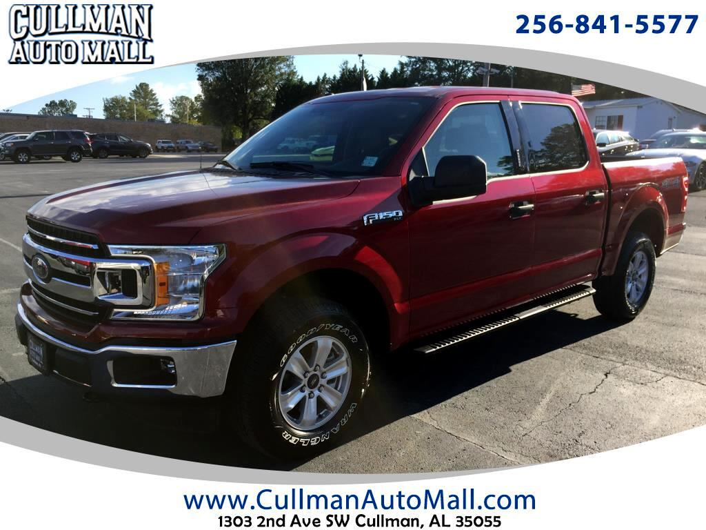 2018 Ford F-150 XLT SuperCrew Short Box 4WD