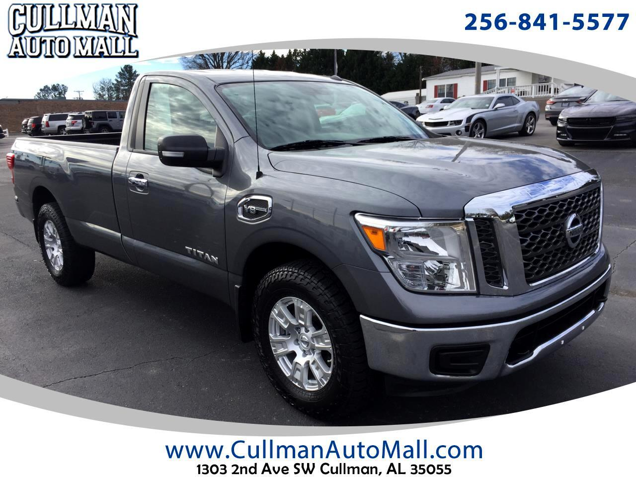 2017 Nissan Titan 4x4 Single Cab SV