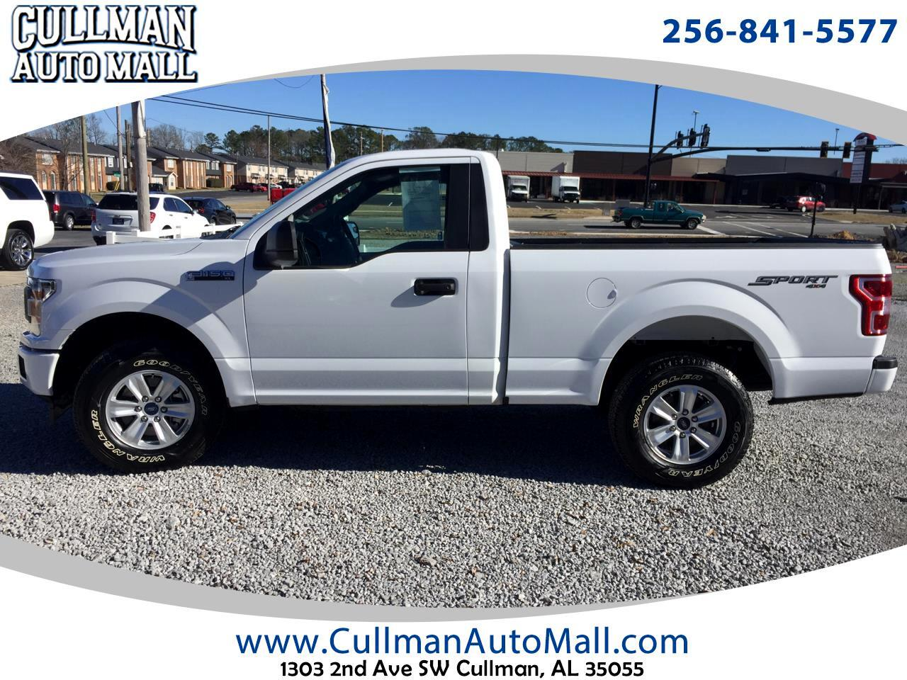 2018 Ford F-150 XL 4WD Reg Cab 6.5' Box