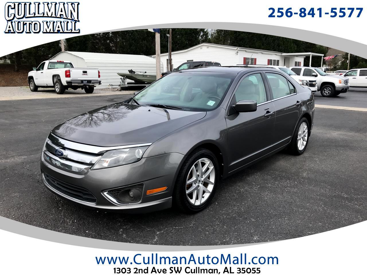 Ford Fusion 4dr Sdn I4 SEL 2012