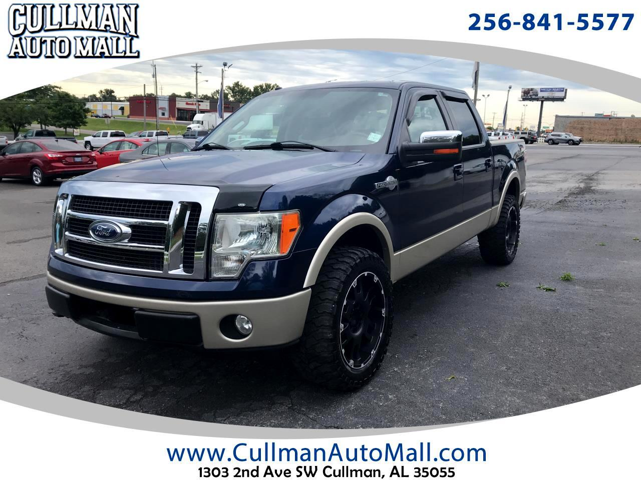 "Ford F-150 4WD SuperCrew 139"" King Ranch 2009"