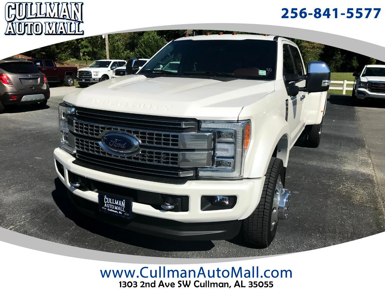 Ford Super Duty F-450 DRW Platinum 4WD Crew Cab 8' Box 2019